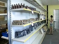 college girl Fucked In The Shop