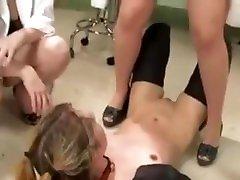 Lesbian pissing slave