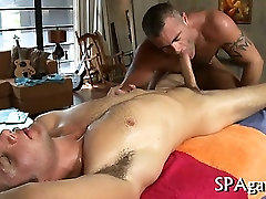 Explicit gay irrumation