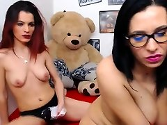 Hot threesome hardcore double penetration brit talk Licking and Strapon Play