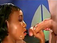 black girl love cum bukkake