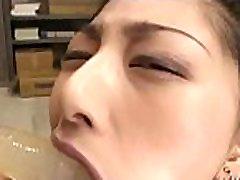 Japanese www xxxniw receives blowjob training