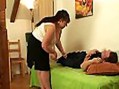 Her hubby fucks chubby mother inlaw
