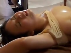 Japanese slut cheats on her husband with Mark Dugni when he is in the room