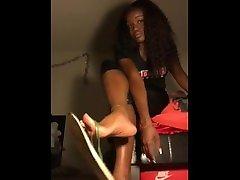 Ebony Coco Dangle