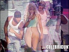 Nude Celebrity Nicki Minaj Exposed Big Tits And Spunk Selfie