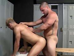 Big Dick Jock Fucks fat white girls Blonde Guy In Locker Room