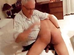 Daddy spanks naughty Chinese boy