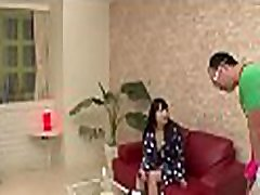 Sultry japanese arouses with blow job and tits fucking