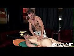 Sensual and sexy massage session for pretty twinks