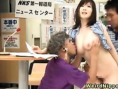 Busty nancie florida milf fucked at work