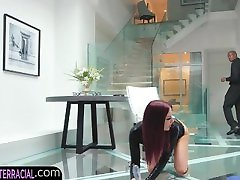 Eurobabe getting asian mom bang by son assfucked