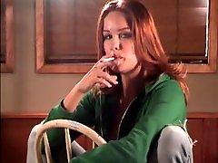 Smoking Fetish - Sexy Melanie smoking ML100