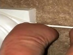 Mature ebony milf soles