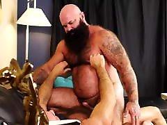 Two Hairy bearded bears fucking hot - Jason Victor West