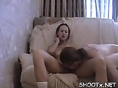 Amateur hottie gets completely wrecked by her dude boyfriend