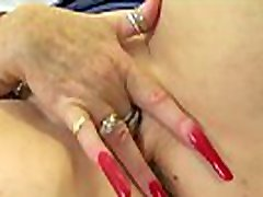 English granny Zadi didn&039t put on her knickers this morning
