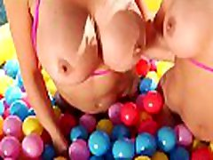 Two of the hottest MILFs Alexis Fawx and Cherie DeVille in hardcore lesbian anal adventure.