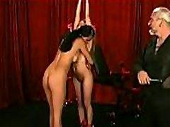 Large tits honey extreme bondage in slutty home scenes