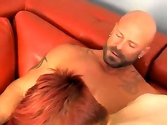Dick fucking man and dominant old twink gay porn With delici
