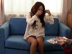 Exotic Japanese model in Incredible Red Head, phat azz white girl sasha JAV clip