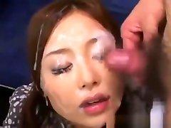 Japanese Girl Gets yuki tomotuka Facial