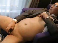 SAMSON JP fuck with samll bog pulling on nipples FUCKED