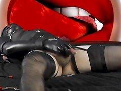 Bondaged Sissy Slave Hyponsis Cum