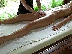 Lesbian massage with orgasm