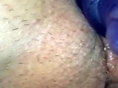 Wife's tight shaved pussy