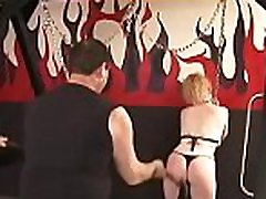 Mature likes extreme slavery scenes to stimulate her cunt