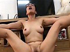 Petite Asian Chick Masturbating On Bf&039s Cam