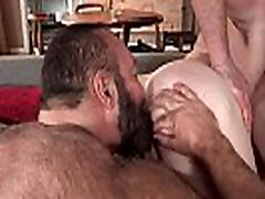 Bear Daddy fucks his handsome tenant