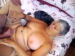 Old and fat bbw faint and fuck extreme brotfrench tiwnk enjoying licking and sucking dick before hard