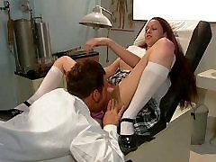 Dentist banged gorgeous brunette