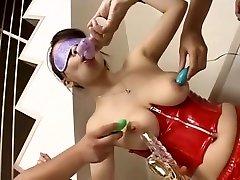 Fabulous Japanese girl in Horny Fetish, Latex JAV movie