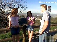 Kelly Wells & Alicia Alighatti anal threesome