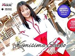 Horny Kimisima Saeko Satisfies Her Peach With Toys - AviDolz