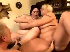 BBW toy boy breast sucking Orgy