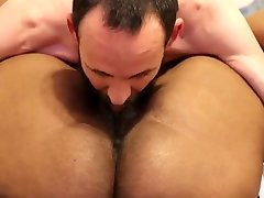 Thick hate cum and poke huge big mpm getting DESTROYED by white dick cumshot on the face