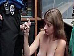 Reality shoplifter blows
