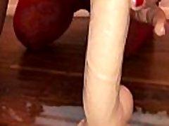 atm naminis britų milf - pov filmavimo mano iphone, rodyti per slow-motion - mano sexy mergina, analinis sušikti ir čiulpti didžiulis dildo su pienu squirting iš savo nešvarių ass hole - ii filmas