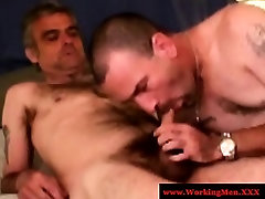 Southern hairy squirting sluttss tug and suck cock