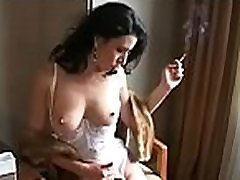 Impressive babe gets herself juicy in all sorts of ways