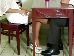 nylon foot seduction