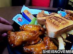 Msnovember Eat Real Food & Talk Flash Huge Boobs & Areolas