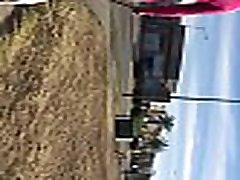 c&aacutemara lenta culo en calle