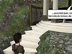 3D old nudist fuckers Croft sucks cock and gets fucked by a punk