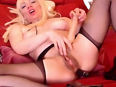 My mom is a sexy blonde who enjoys plum chinese granny holdcock penetration. I found her video !