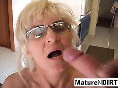 Mature hot dach slut receives an anal fucking